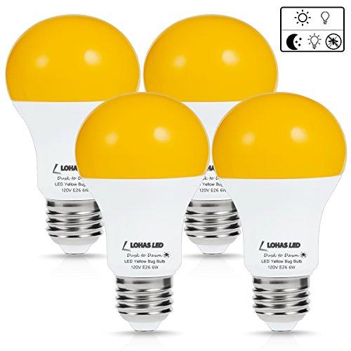 Lohas Led Light Dusk To Dawn Smart Sensor Bulb A19 40w