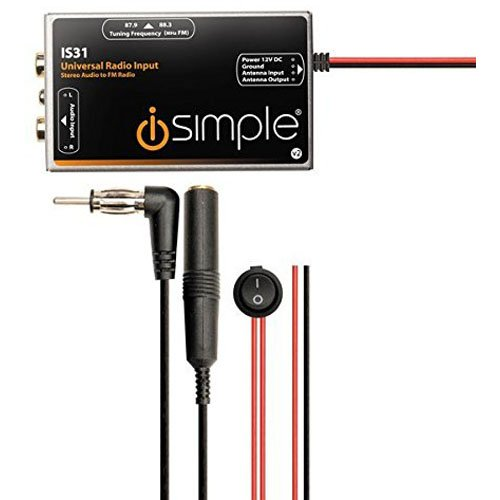 iSimple IS335 Dash Mountable Auxiliary Input Adapter – X4 Soul Minis